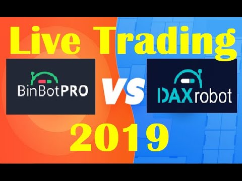 BinBot Pro vs. Dax Robot – LIVE Trading & RESULTS Compared (Must See)