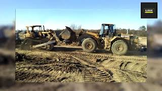 Dozer versus wheel loader. the result may surprise you