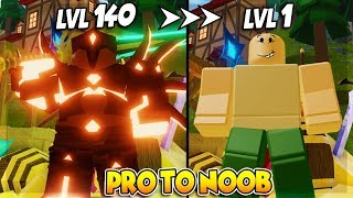 PRO ZU NOOB *FUNNY MOMENTS* DUNGEON QUEST ROBLOX