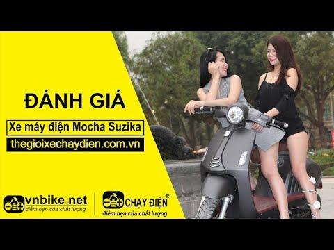 Xe máy điện Mocha Suzika