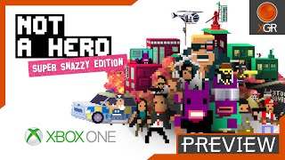 preview not a hero super snazzy edition xbox one me myself bunnylord gameplay