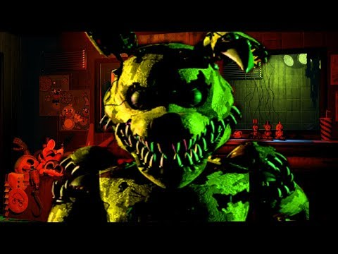 DO NOT LET NIGHTMARE SPRINGTRAP INTO YOUR OFFICE...    Five Nights at Freddys Mod **NEW** thumbnail
