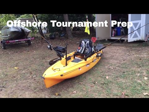 Hobie Outback Tournament Setup For Offshore Tourney #NCKFAOIC2017