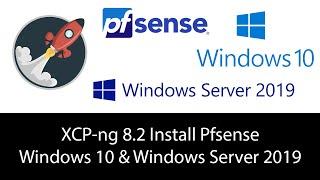 XCP-ng 8.2 Install Windows 10,…