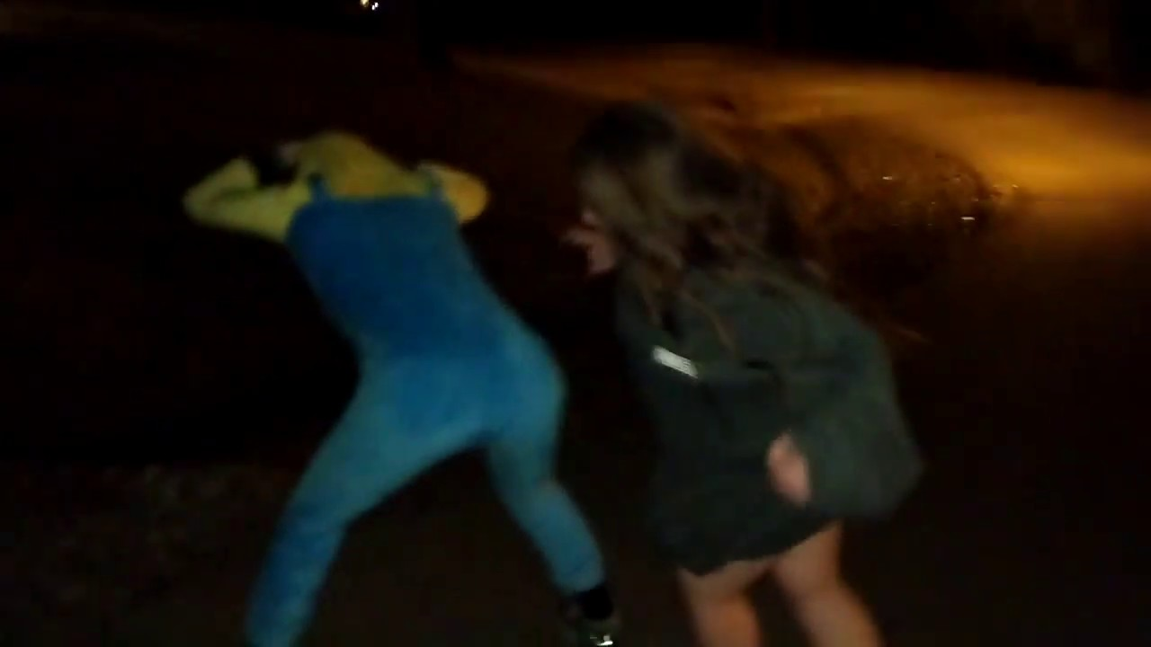 Minion Man gets Punched in the Butt Hole