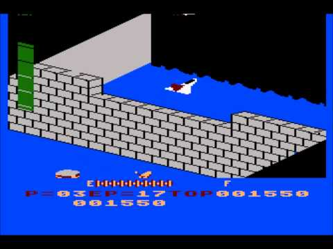 Zaxxon for the Atari 8-bit family