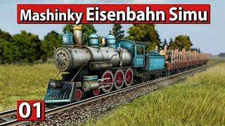 Mashinky | Es geht los! ► #01 Die Eisenbahn Manager Simulation ► Lets Play Mashinky deutsch