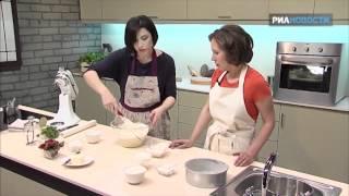 видео Девчата - Быстрый клюквенный пирог