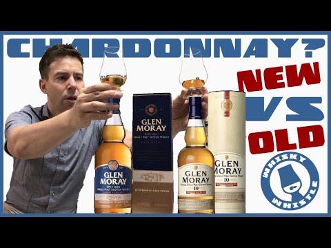 Glen Moray Chardonnay Cask Finish VERSUS Chardonnay 10 Year Whisky Review 185