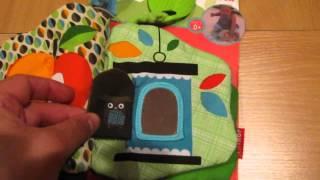 Видеообзор детская игрушка - книжка-шуршалка