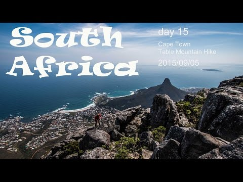 South Africa - Cape Town - hiking up Table Mountain | Vlog