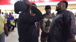 Lil Win arrives at Kotoka International Airport from Sarkodie The Highest Concert