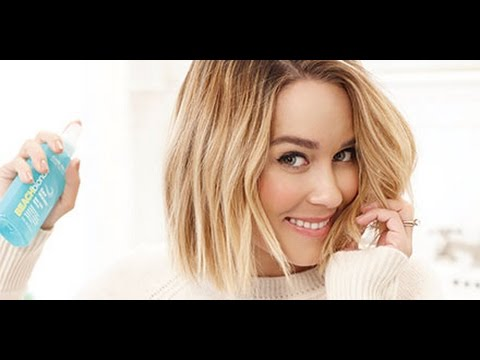 how-to-get-lauren-conrad's-beachy-waves
