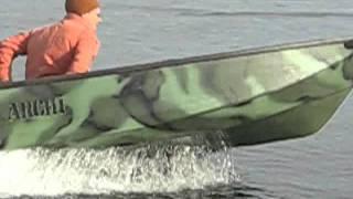 Лодки самоделки .Глиссирующие.(Лодки самоделки 2.6м.Глиссирующие.двигатель 6 и 3.5 . Фото и видео . Испытание . b21000b@yandex.ru., 2011-10-30T10:29:42.000Z)