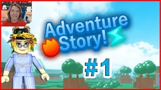 Roblox Adventure Story #1 Bandits Mrs. Samantha and Fans