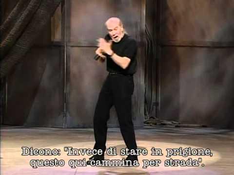 George Carlin - english language