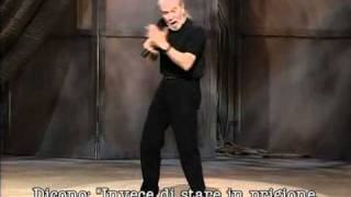 George Carlin - english language