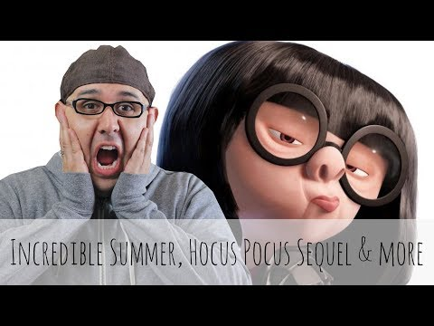 Disney Podcast - INCREDIBLE SUMMER, HOCUS POCUS SEQUEL (HOMH)  - Dizney Coast to Coast - Ep. 504