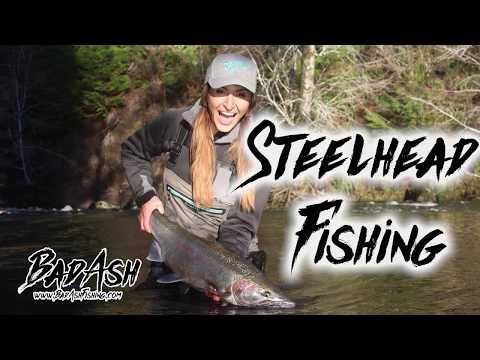 Steelhead Fishing Olympic Peninsula | BadAshFishing