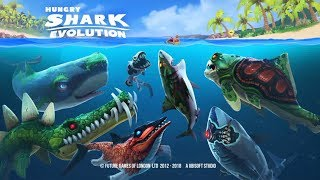 ALL NEW SKINS UPDATE OF THE SHARKS ! - Hungry Shark Evolution