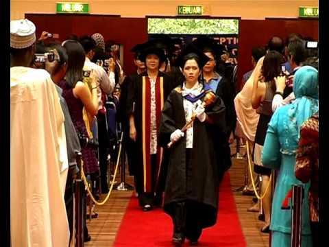 Graduation Ceremony, pm (CU) 11 Nov 2010