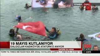 Kadıköy& 39 de 19 Mayıs Kutlamaları 2017 CNN Türk