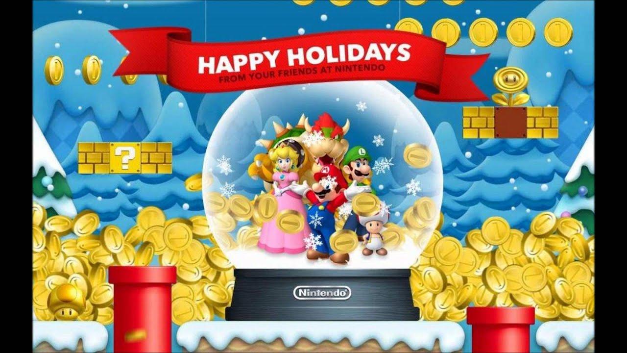 Nintendo Wii U eShop Christmas / Holiday Music - YouTube