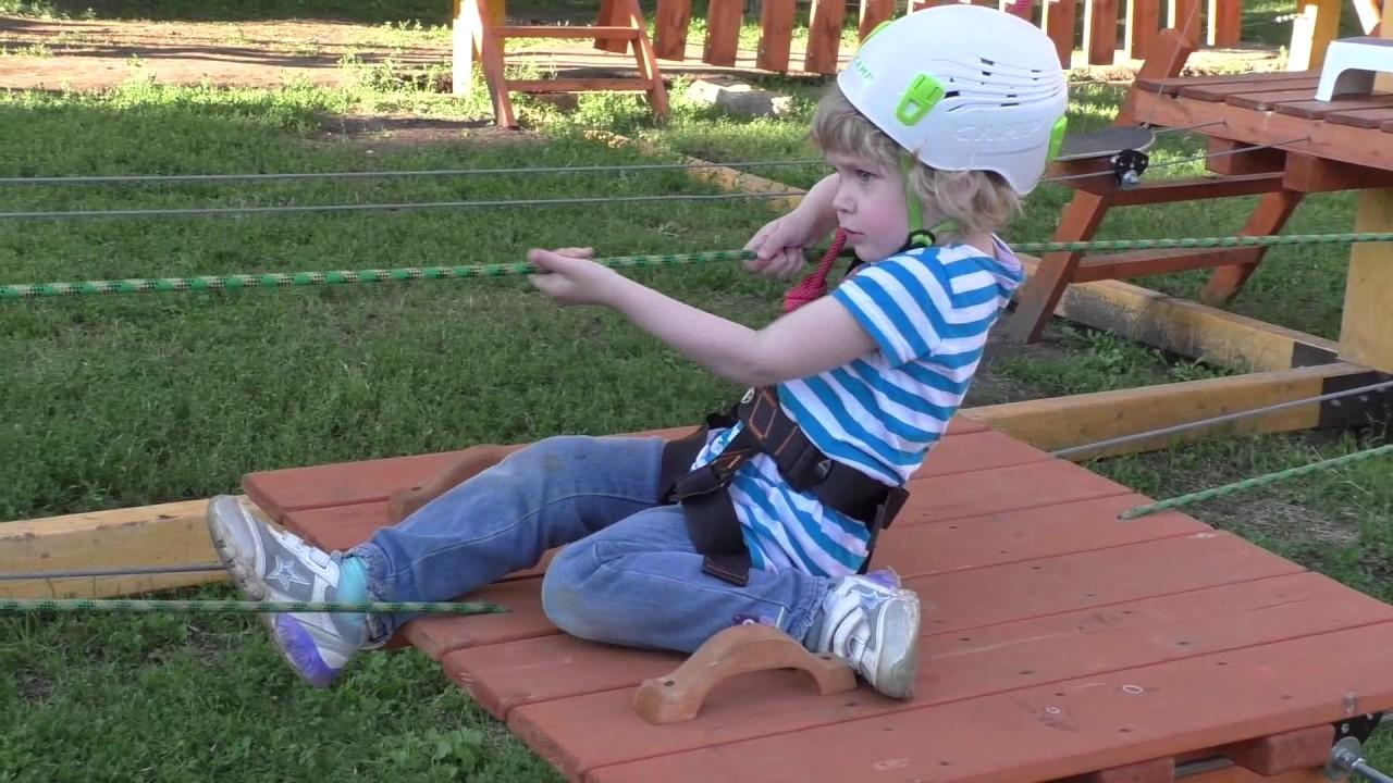 Как сделать веревочный парк своими руками фото 44