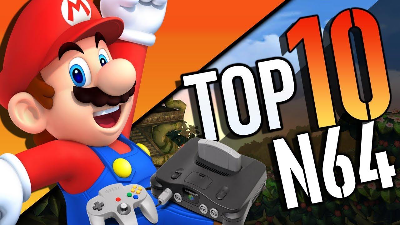Top 10 Mejores Juegos De Nintendo 64 Youtube