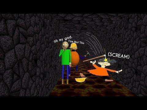 OOF Playtime | Baldi's Volcano [Baldi's Basics Mod]