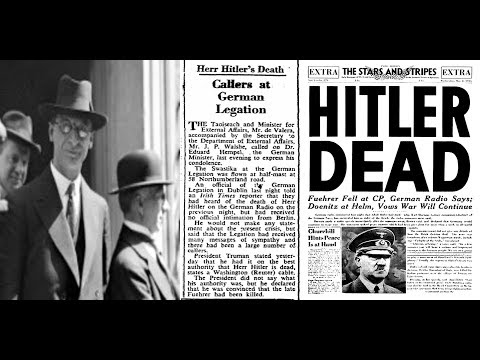 Ireland's shame - De Valera offers official condolences following Hitler's death.