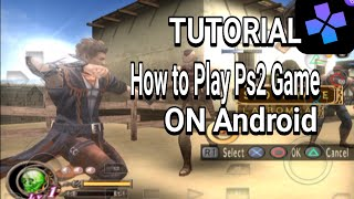 TUTORIAL how to play any PS2 games on Android using DAMON PS2 EMULATOR