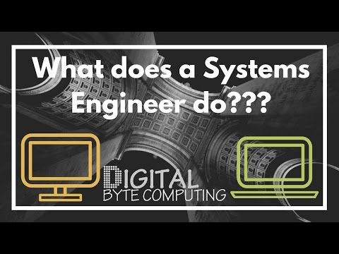 What does a IT Systems Engineer do?