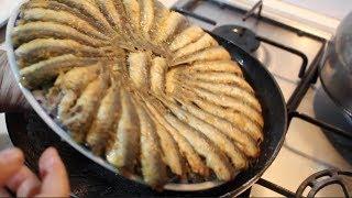 طريقة صحية ورائعة  لقلي سمك السردين على الطريقة التركية سهل و سريع ولديييييد