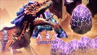 Ark Aberration - HOW TO TAME A ROCK DRAKE, ABERRATION SURFACE EXPLO...