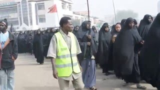 PROTEST AGAINST NIGERIAN ARMY MASSACRE ON THE MEMBERS OF THE ISLAMIC MOVEMENT  IN ZARIA.