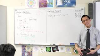 Y10 Review Questions (Solving quadratic & trigonometric equations)