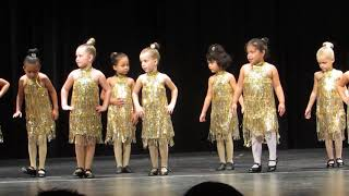 Avas Christmas dance recital Tap