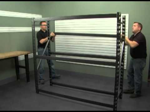 Assembly Instructions For The Gladiator 174 Rack Shelf Youtube