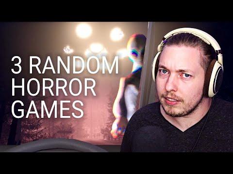 ALIENS, MONSTERS, AND..... SHOPPING...? 😮   3 Random Horror Games   Dani Krossing