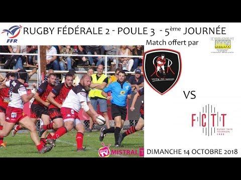 2018 10 14 Rencontres Sportives F2 journée 5 SCR vs FCTT