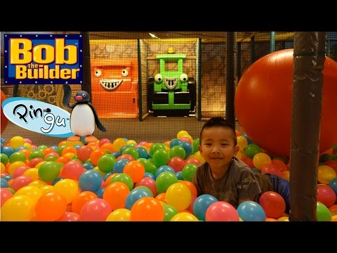 Thumbnail: Indoor Playground Arcade Kids Fun Bob The Builder And Pingu In Real Life Ckn Toys