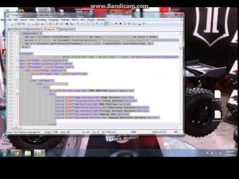 How To Code A Html Drop Down Window (pastebin Below)