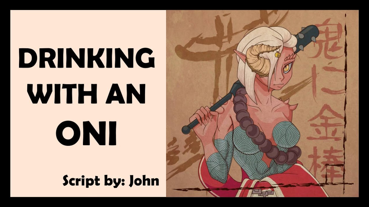 Audio Roleplay - Drinking with an Oni