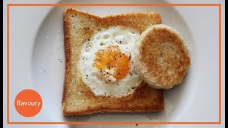 Quick And Easy Egg In A Hole