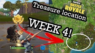 Fortnite - Search between a Bench, Ice Cream Truck and a Helicopter - CHALLENGE TREASURE LOCATION
