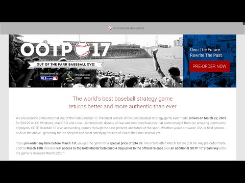 OOTP 17 Dev Matt Arnold Answers Your Questions (2/24/2016)
