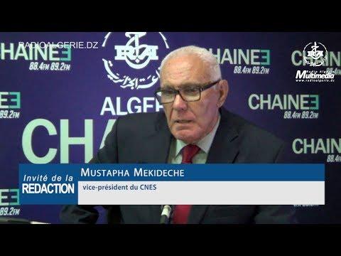 Mustapha Mekideche vice président du CNES