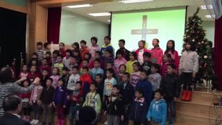 2014年12月7日兒童區獻詩「佈置廳堂」
