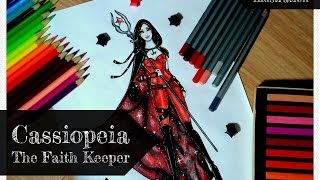 Drawing: Cassiopeia - The Faith Keeper